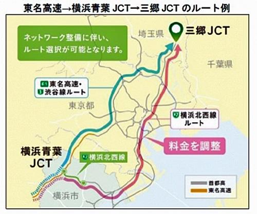横浜北西線詳細図