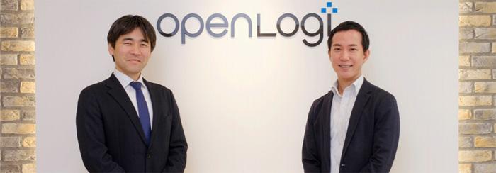 左がDHLジャパン法人営業第一部小島部長、右がオープンロジ伊藤代表