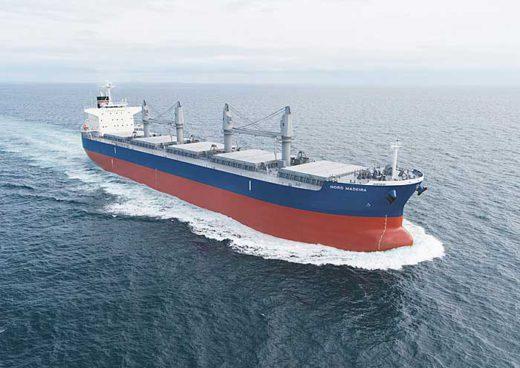 20200207es 520x368 - 三井E&S造船/ばら積み貨物船「ノルド マデイラ」竣工