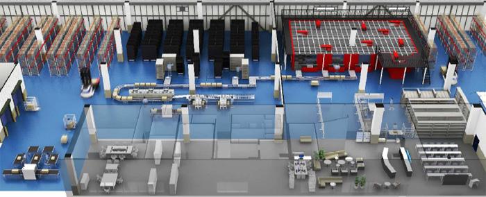 「NEX-Auto Logistics Facility」完成イメージ