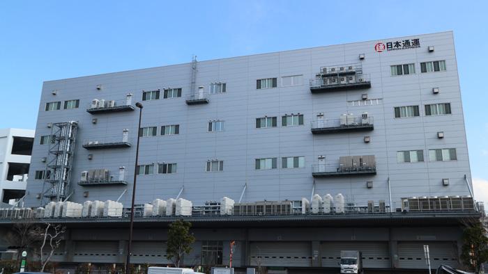 「NEX-Auto Logistics Facility」が入居する日通新砂5号倉庫