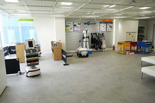 20200213mitsui10 520x347 - 三井不動産/完全自動化物流倉庫のショールームを初公開