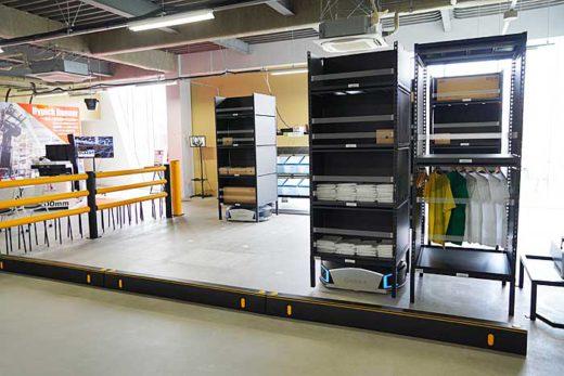 20200213mitsui11 520x347 - 三井不動産/完全自動化物流倉庫のショールームを初公開