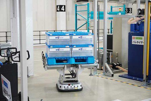 20200213mitsui13 520x347 - 三井不動産/完全自動化物流倉庫のショールームを初公開