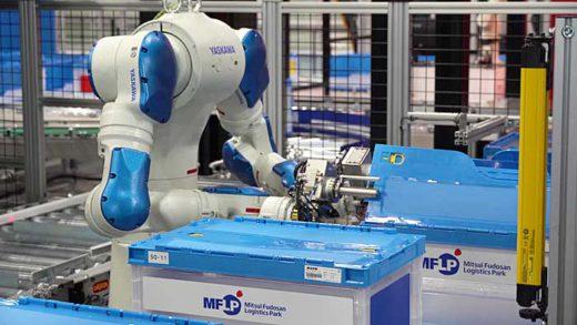 20200213mitsui33 520x293 - 三井不動産/完全自動化物流倉庫のショールームを初公開
