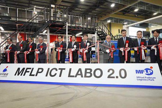20200213mitsui5 520x347 - 三井不動産/完全自動化物流倉庫のショールームを初公開