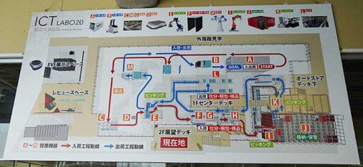 20200213mitsui7 520x239 - 三井不動産/完全自動化物流倉庫のショールームを初公開