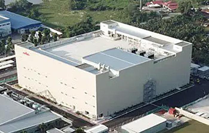 マレーシア・ペラ州に建設された新生産棟