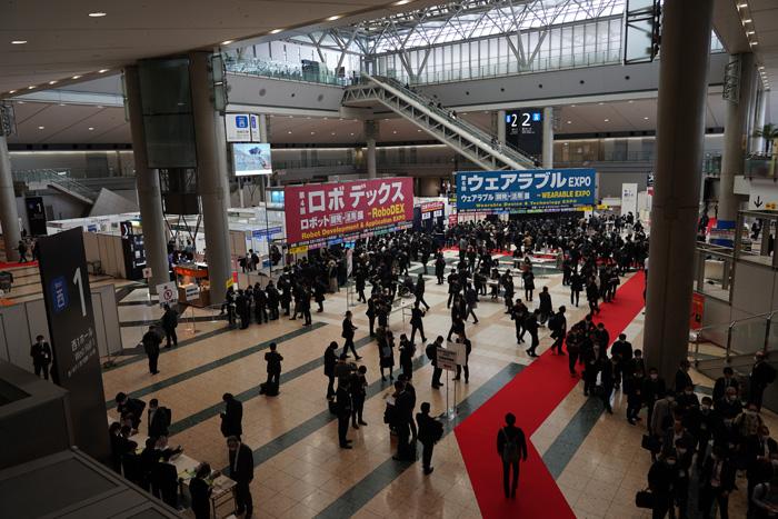 20200214robo1 - ロボデックス展/自律走行ロボット百花繚乱