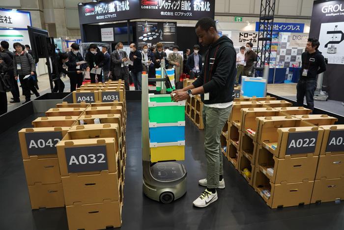 20200214robo2 - ロボデックス展/自律走行ロボット百花繚乱