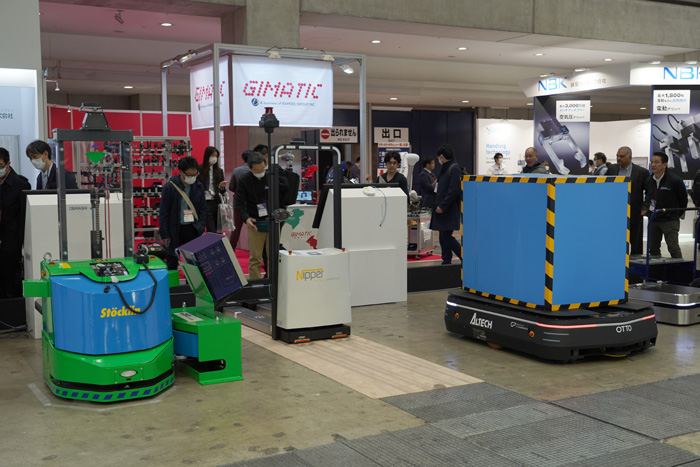 20200214robo5 - ロボデックス展/自律走行ロボット百花繚乱