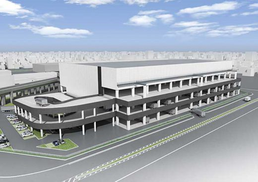北大阪流通センター・物流新棟計画