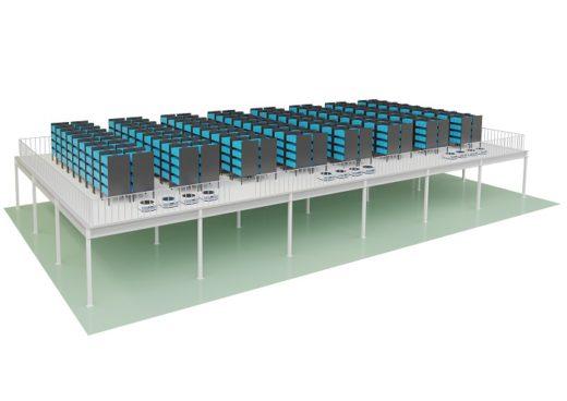 20200319logias 520x368 - ロジアスジャパン/階高を有効活用できる棚搬送AGVシステム発売