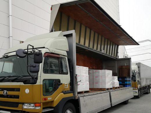 20200303paint 520x390 - 日本ペイントHD/まとめ輸送で積載率改善、ホワイト物流