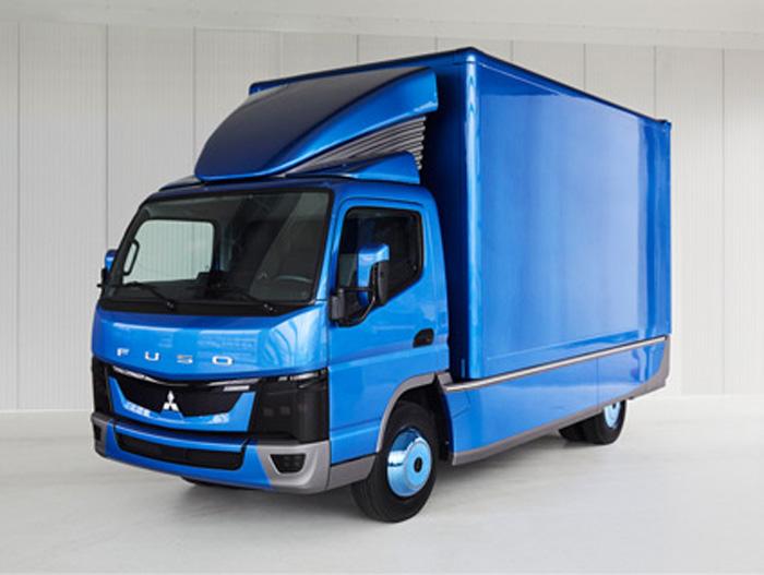 電気小型トラック「eCanter」