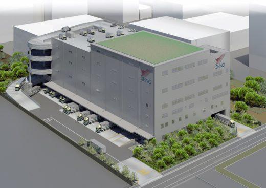 20200316seino 520x367 - 西濃運輸/東京都江東区に物流倉庫一体型の深川支店建設