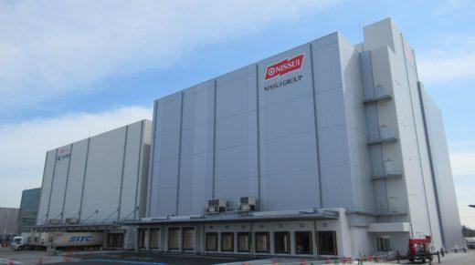 20200402nissui 520x291 - 日水物流/47億円投資、大阪舞洲物流センター2号棟が稼働