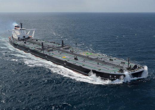 20200403jmu 520x370 - JMU/大型原油タンカー「豊弥(とや)」引渡し