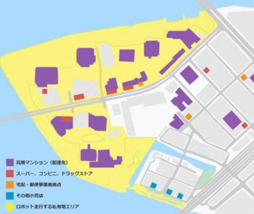 20200508zmp1 520x440 - ZMP/東京都心の高層マンション群で宅配ロボットの公道実証実験