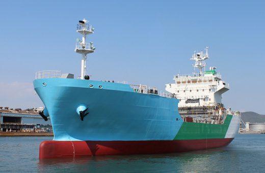 20200513kline 520x341 - 川崎汽船など4社/日本初のLNGバンカリング船が進水