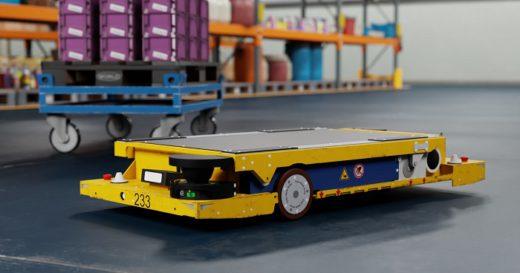 20200518bmw 520x273 - BMWグループ/工場内物流の改善へAIロボット導入