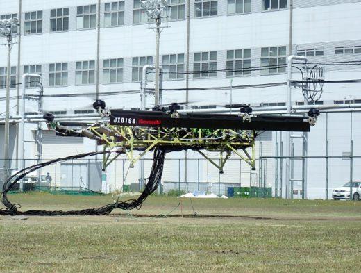 20200518kawasaki 520x393 - 川崎重工/「空飛ぶ軽トラック」の浮上試験に成功