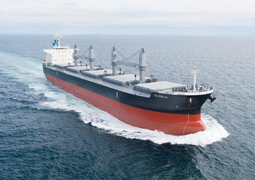 20200518mitsuies 520x368 - 三井E&S造船/6.4万トン型ばら積み貨物運搬船を完成