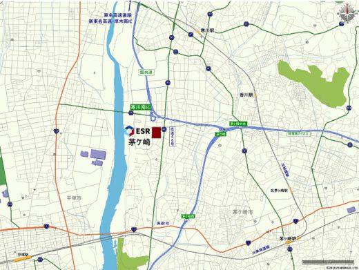20200601esr1 520x391 - ESR/神奈川県茅ケ崎市で6.9万m2物流施設を着工