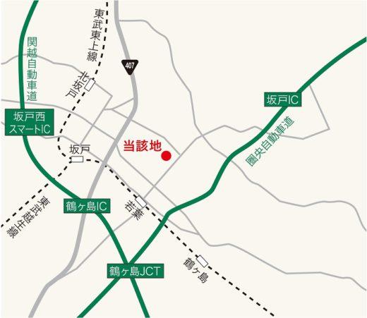 20200601mcud22 520x451 - 三菱商事都市開発/埼玉県鶴ヶ島市で2.2万m2物流施設竣工