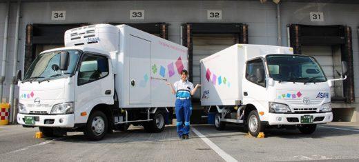 20200609asahi 520x235 - アサヒロジスティクス/松戸事業所に女性専用車両導入