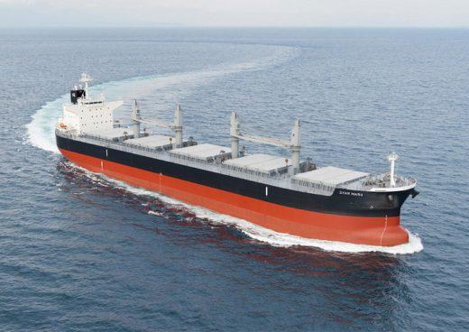 20200619mitsui 520x368 - 三井E&S造船/6.4万トン型ばら積み船「スターマル」引渡し