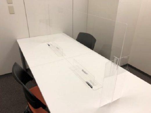 20200622nikkon3 520x391 - 日本梱包運輸倉庫/新型コロナ対策で本社の事務・会議室改装