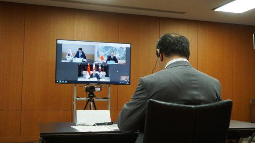 20200630kokudo1 520x292 - 日中韓物流大臣会合/物流分野で新型コロナ対応の連携を強化