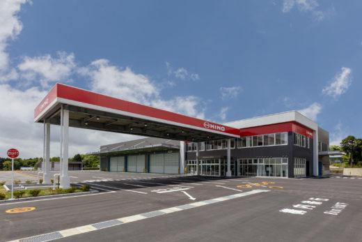 20200708hino 520x347 - 静岡日野自動車/御殿場営業所を開設