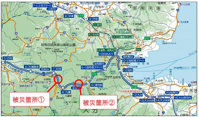 九州 自動車 道 通行止め NEXCO 西日本の高速道路・交通情報