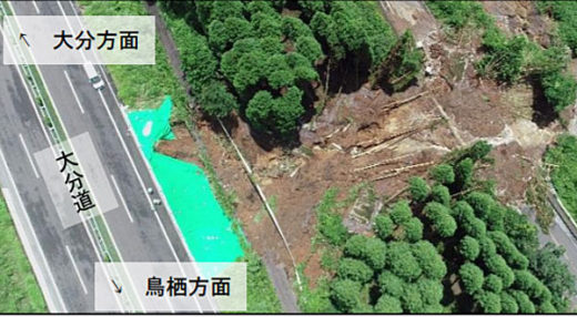 20200708nexcow3 520x286 - 高速道通行止め2/九州自動車道解除、大分自動車道未解除