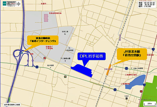 20200709daiwa2 520x357 - 大和ハウス/岩手県花巻市に1.3万m2の物流施設を開発へ