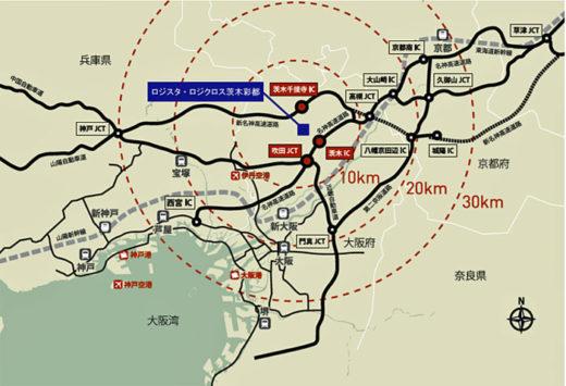 20200709hankyufudosan2 520x355 - 阪急阪神不動産、三菱地所/彩都もえぎ物流施設、2棟の入居者内定