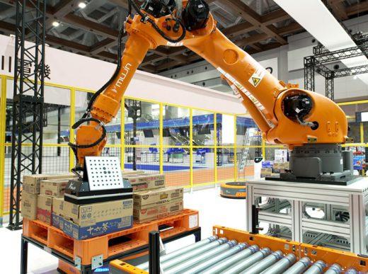 20200709mujin1 520x387 - MUJIN/都内最大級ロボットセンターで物流業界向け内覧会