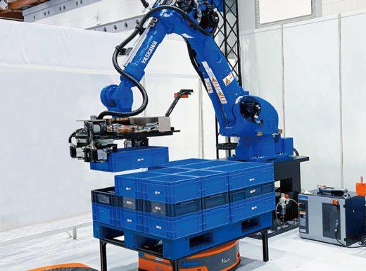 20200709mujin2 520x385 - MUJIN/都内最大級ロボットセンターで物流業界向け内覧会