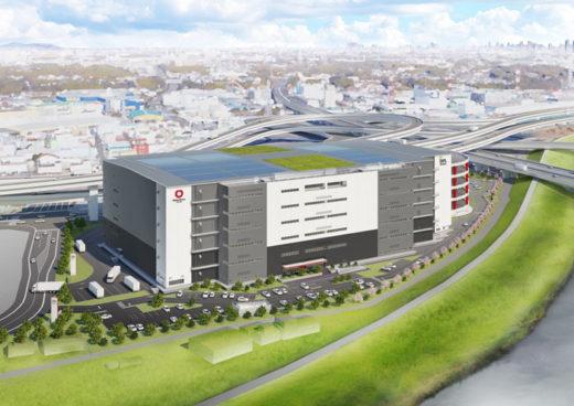 20200710daiwah1 520x368 - 大和ハウス/新横浜駅から3㎞の地に約10万m2の物流施設着工