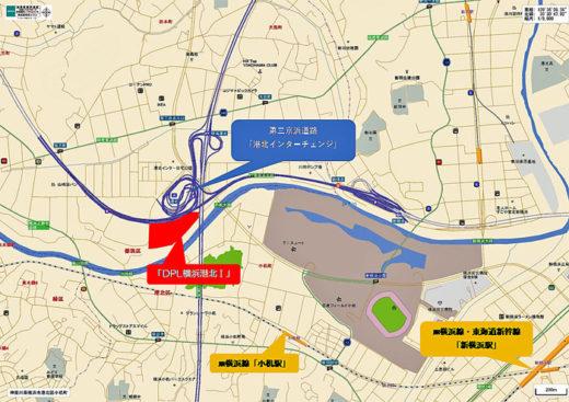 DPL横浜港北Ⅰ近隣地図