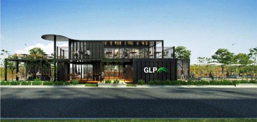 「GLP 岡山総社Ⅲ」コンテナハウス型休憩スペース完成イメージ
