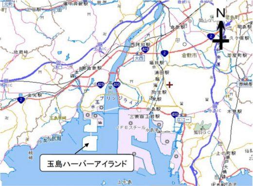 20200720okayama 520x383 - 岡山県/玉島ハーバーアイランドに一般貨物運送業者進出