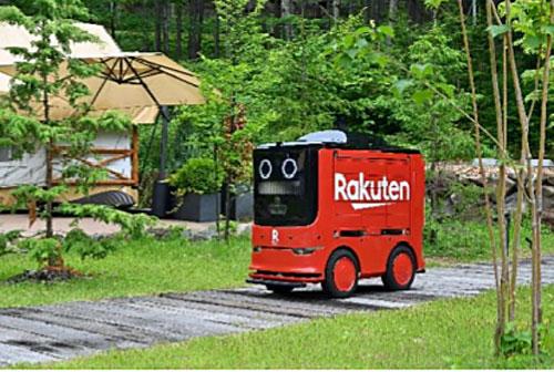 20200721rakuten - 楽天ほか/自動走行ロボットで商品配送サービスを提供