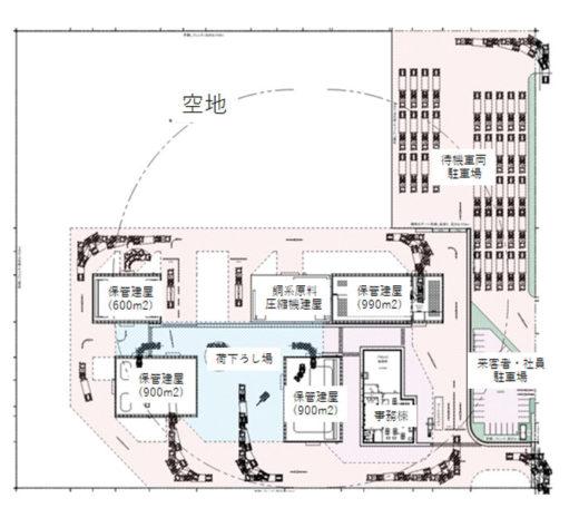 20200729jxkinzoku1 520x456 - JX金属/大分港大在西地区にリサイクル原料物流拠点開発へ
