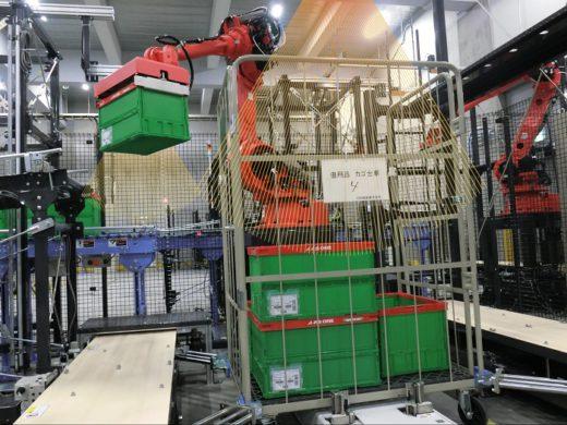 20200730mujin3 520x390 - MUJIN/アズワンの最先端物流センターでロボット4台が稼働