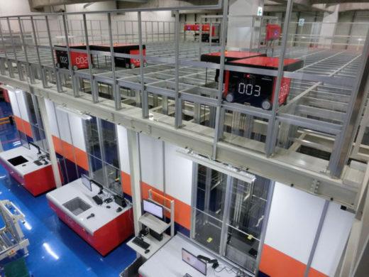 ロボットストレージシステム-AutoStore