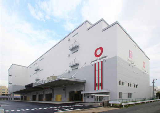 20200803daiwab1 520x369 - 大和物流/京都市南区に1.4万m2の物流センターを稼働開始