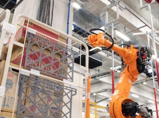 20200803mujin2 520x387 - MUJIN/物流関係者200人超来場、ロボットセンター内覧会